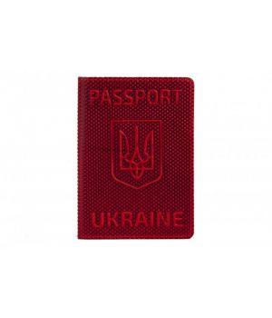 "Обложка на паспорт Refgresh ""Romb"" Red"