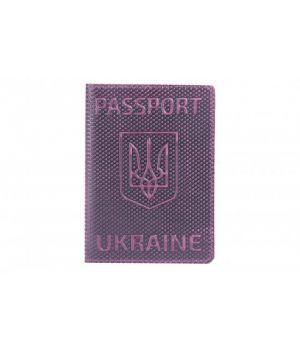 "Обложка на паспорт Refgresh ""Romb"" Violet"