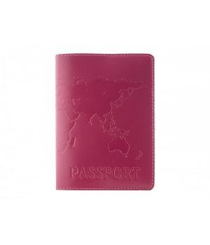 """Обложка для паспорта """"Map"""" Fuchsia"""
