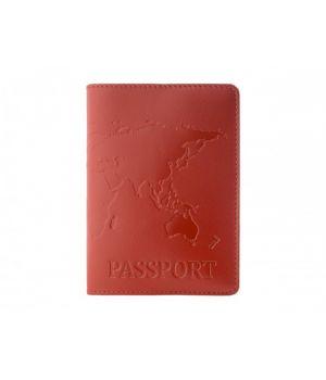 """Обложка для паспорта """"Map"""" Red"""