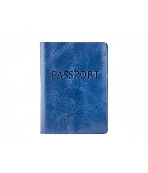 """Обложка для паспорта ST """"Passport"""" Alkor Blue"""