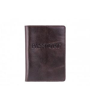 """Обложка для паспорта ST """"Passport"""" Alkor Brown"""