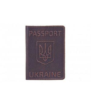 "Обложка на паспорт Refgresh ""Romb"" Brown"