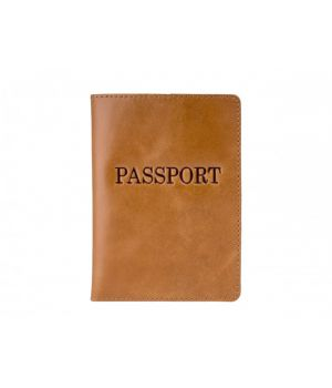 """Обложка для паспорта ST """"Passport"""" Alkor Light Brown"""