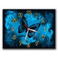 Настінний годинник Витончена метелик, 30х40 см