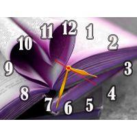 Настенные часы Книжные страницы