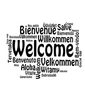 Добро пожаловать на разных языках 2