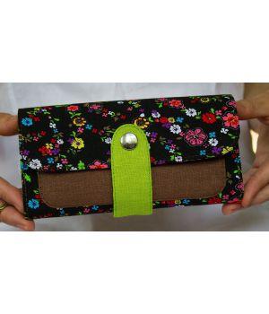 Великий дизайнерський жіночий гаманець, 76263