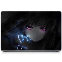 """Универсальная наклейка на ноутбук 15.6""""-13.3"""" Аниме Матовый 380х250 мм"""