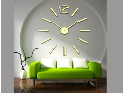 Обзор товара большие часы 12 Time Gold