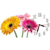 Настенные часы Яркие цветы