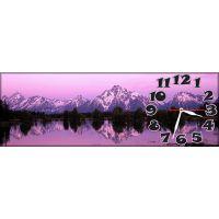 Настенные часы Красота гор, 30х90 см