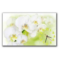 Настенные часы Освежающие орхидеи, 30х50 см