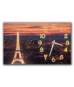 Настенные часы Парижская сказка, 30х50 см