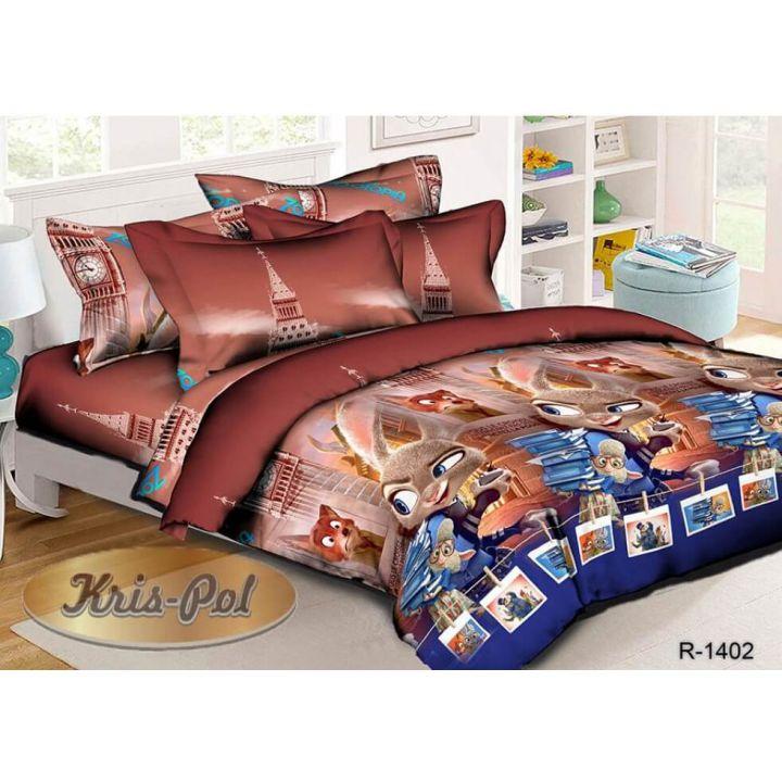 Детское постельное белье 150х220 хлопок (181402)