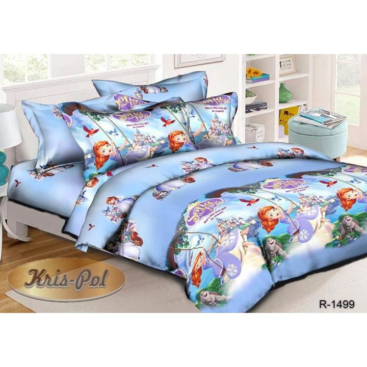 Детское постельное белье 150х220 хлопок (181499)
