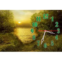 Настенные часы Манящее лето, 30х45 см