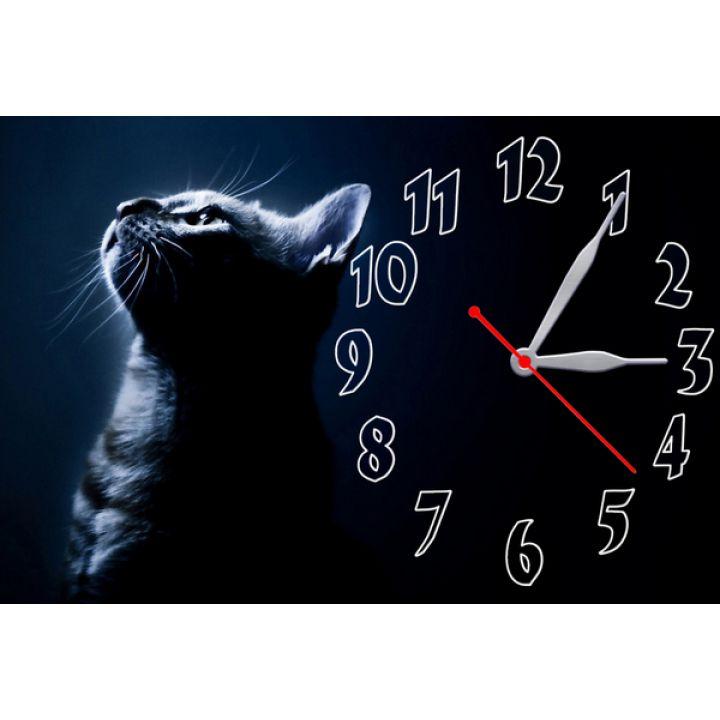 Настенные часы Милый котик