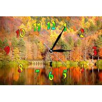 Настенные часы Осень, 30х45 см