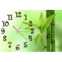 Настенные часы Освежающая зелень, 30х45 см
