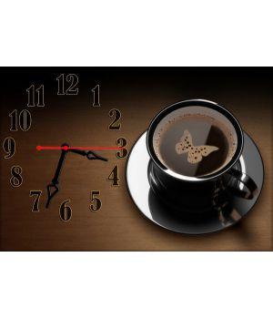 Годинник настінний Кава