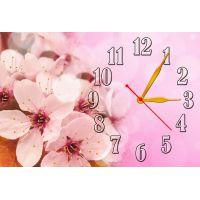 Настенные часы Вишнёвый цвет