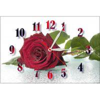 Настенные часы Чарующая роза, 30х45 см