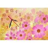 Настенные часы Розовые цветики