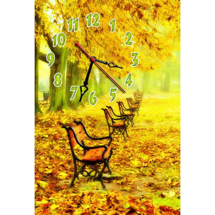 Настенные часы Осеннее настроение
