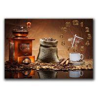 Настінний годинник Аромат кави, 30х45 см