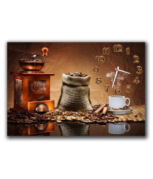 Настенные часы Аромат кофе