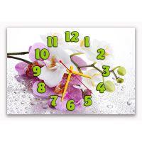 Настенные часы Аромат орхидеи