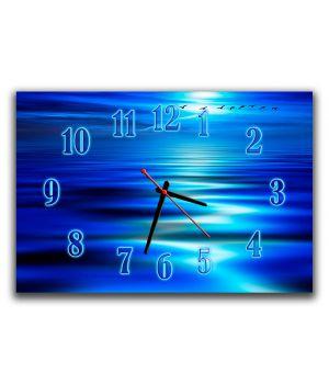 Настенные часы для спальни Морская гладь, 30х45 см