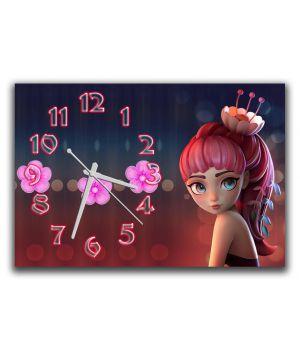 Настенные часы Принцесса, 30х45 см