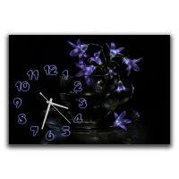 Настенные часы Нежность цветов, 30х45 см