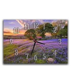 Годинник настінний Лаванда, 30х45 см