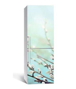 65х200 см, Наклейка на холодильник Пасхальная верба
