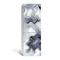 65х200 см, Наклейка на холодильник Сквозь лед
