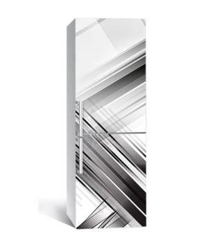 65х200 см, Наклейка на холодильник Чистые окна