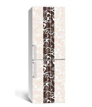 65х200 см, Наклейка на холодильник Шоколадный акцент