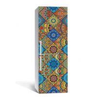 65х200 см, Наклейка на холодильник Цветная мозаика