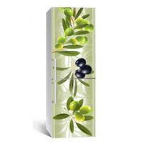 65х200 см, Наклейка на холодильник Сады Менара