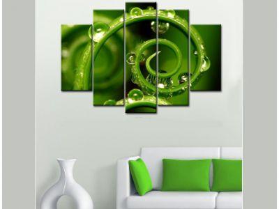 Обзор товара - Модульная картина Зеленый лабиринт