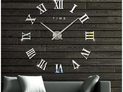 Как установить большие настенные 3D часы? Инструкция