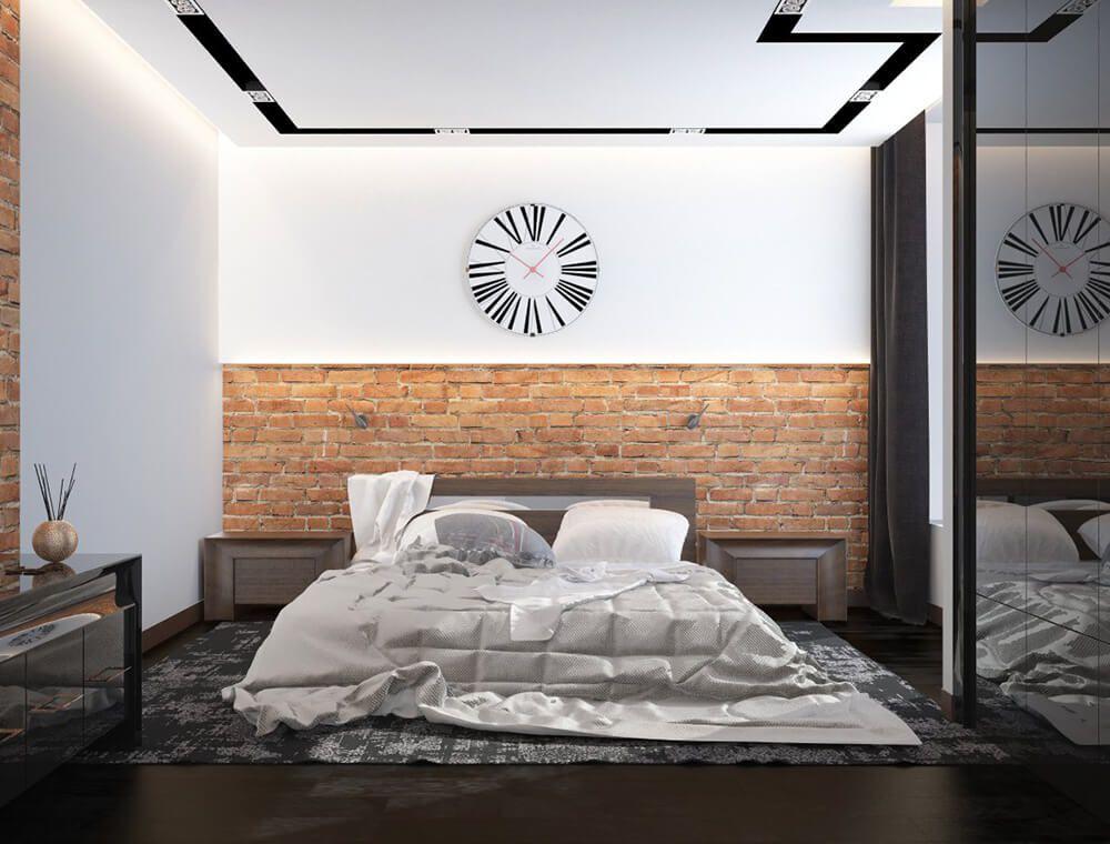 Часы в интерьере спальни -Как выбрать?