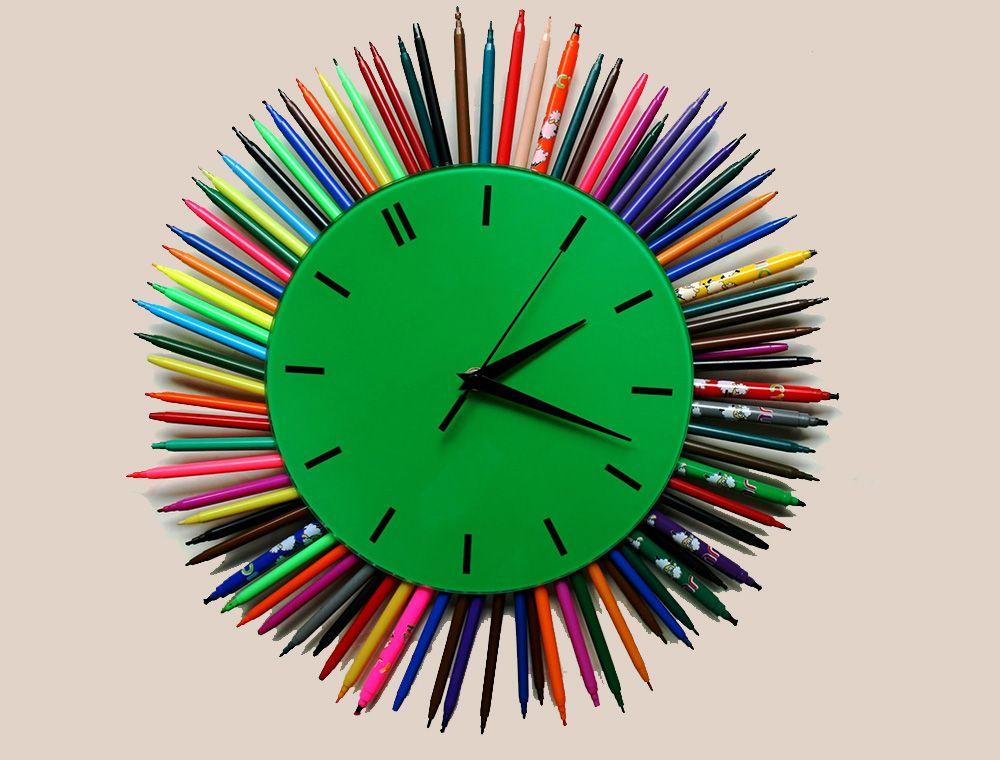 Детские настенные часы своими руками - Идеи и техники