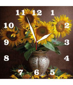 30х30 см, Стеклянные часы настенные, 77921