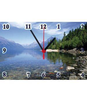 20х30 см, Стеклянные часы настенные, 77831