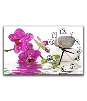 Настенные часы Орхидеи, 30х50 см