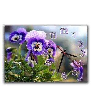 Настінний годинник Квіточки, 30х45 см
